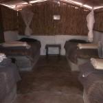 Tent 6 interior