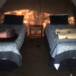 Tent 7 interior