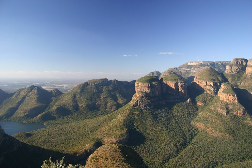 Three Rondawels at Blyde River Canyon