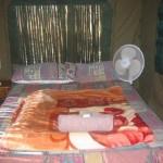 Tent 4 interior