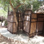 outside ablutions for Treehouse 2