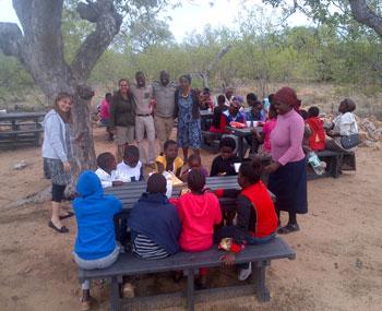 Group from Acornhoek Catholic parish.
