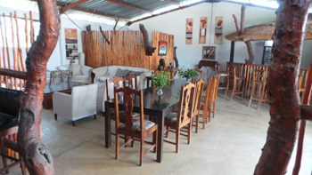 Masango Lodge entertainment area.
