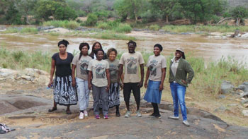 Staff photo on the banks of Olifants River