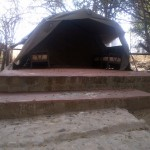 Tent 1 exterior