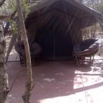 Tent 7 exterior