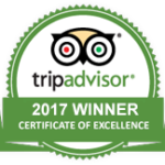 TripAdvisor Certificate of Excellence 2017 - Tremisana Game Lodge