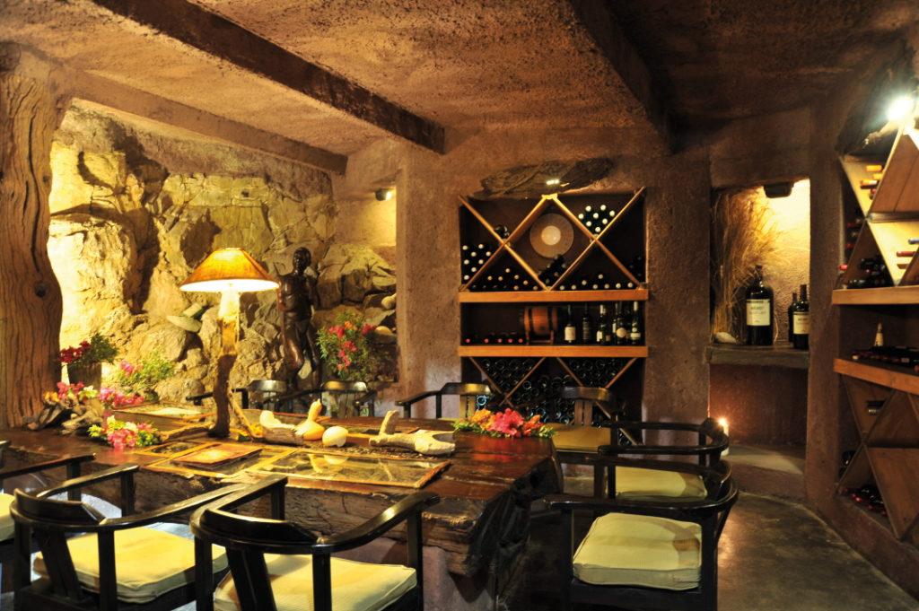 Wine cellar at Ezulwini
