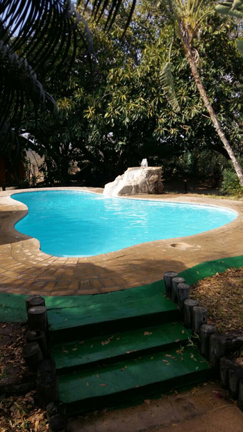 New look sparkling pool.