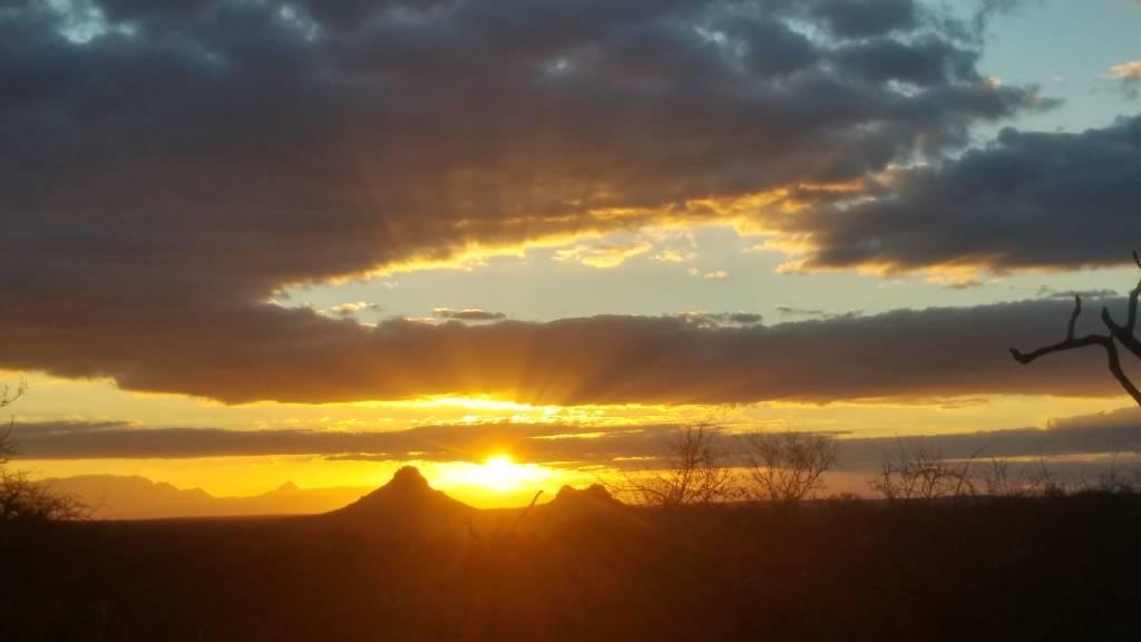 Wonderful Sunset shot