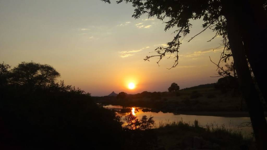 Sunset over the Olifants River